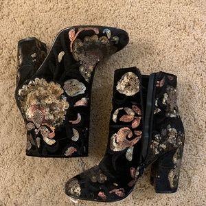 Aldo Sequin Boots